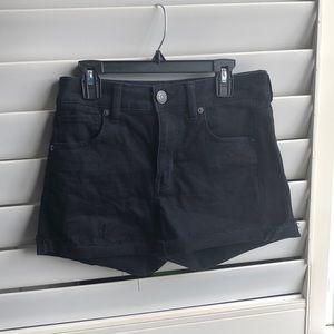 American Eagle Highwaisted Cuffed Shorts
